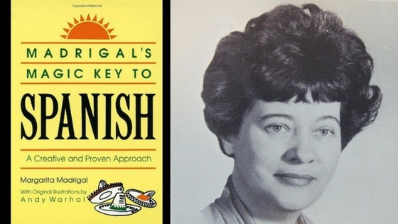 Margarita Madrigal spanish book cover